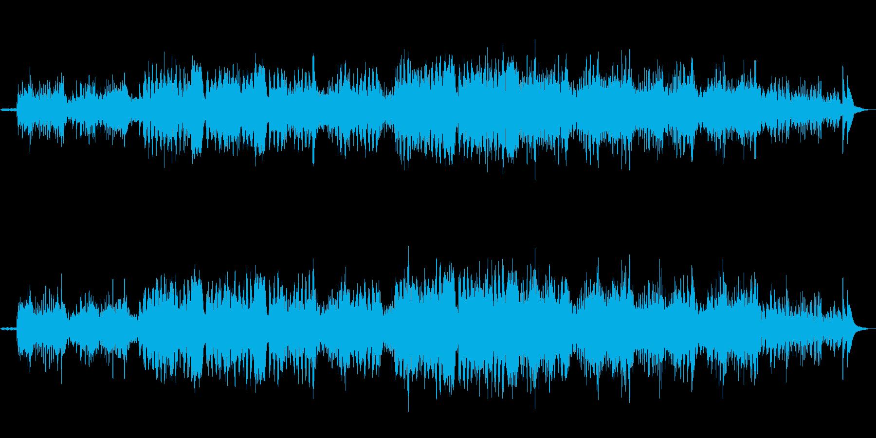 優しげで切ないイメージがするのフルート曲の再生済みの波形