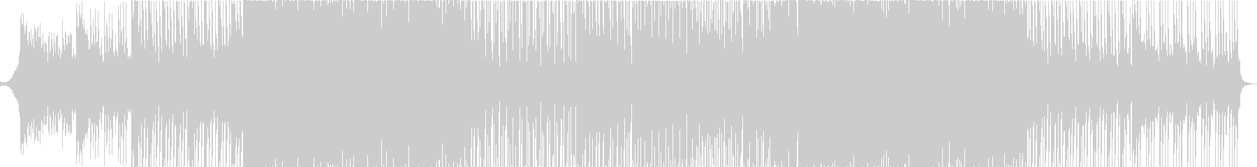 ポップなメロディーが特徴のEDMの未再生の波形