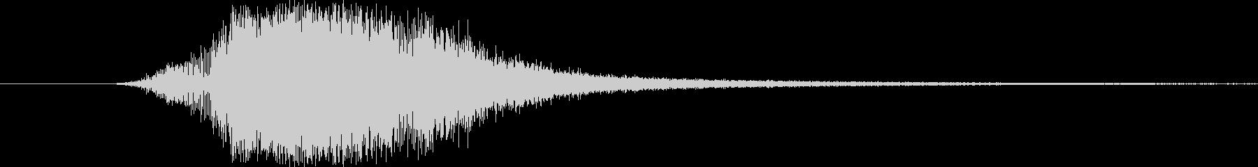 SHARPKNIFE VERSION 5の未再生の波形