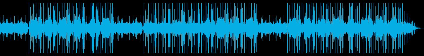 コーラス 落ち着いたアートヒップホップの再生済みの波形