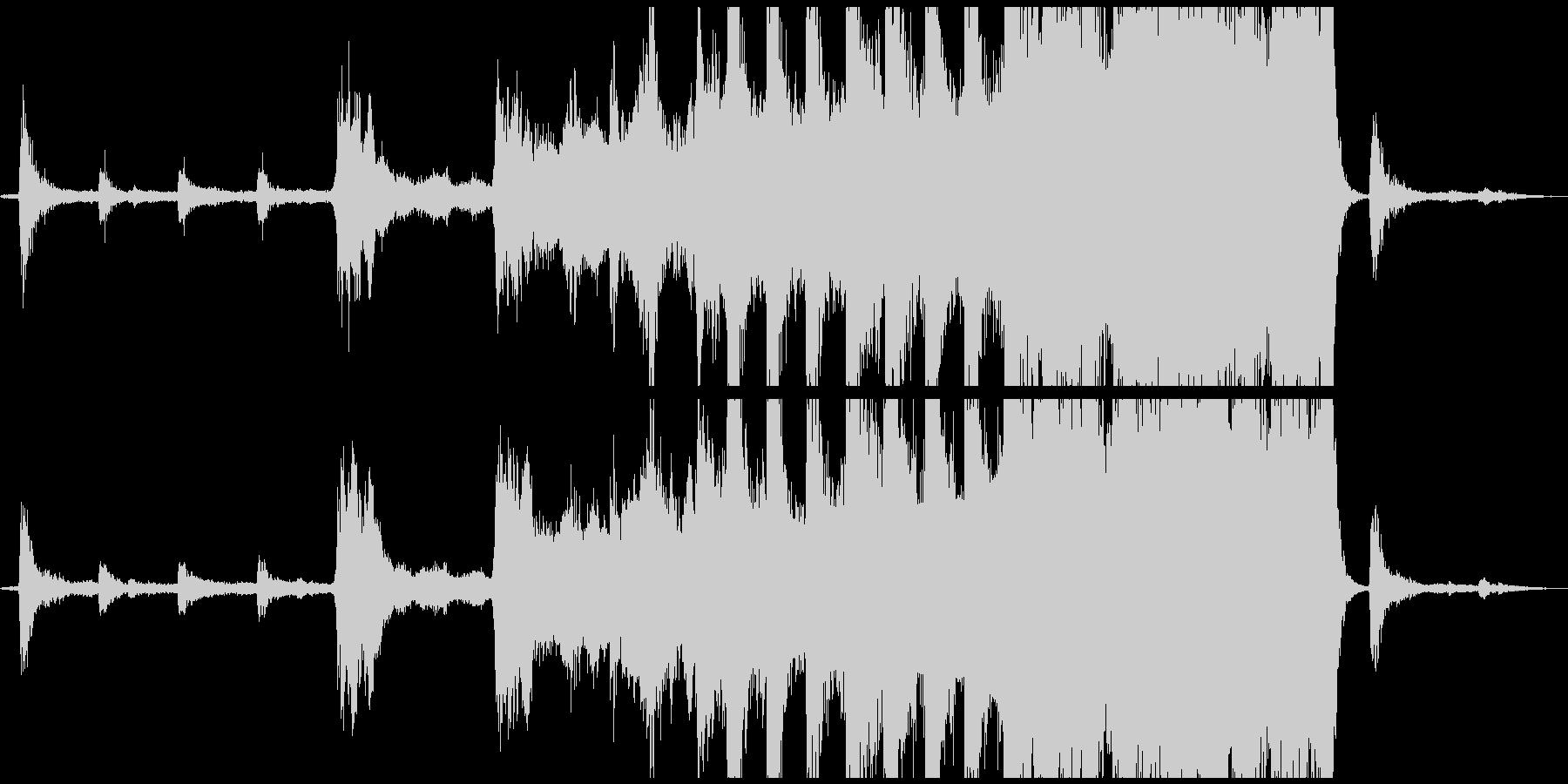 【CM,VP】 壮大なエピックトレイラーの未再生の波形