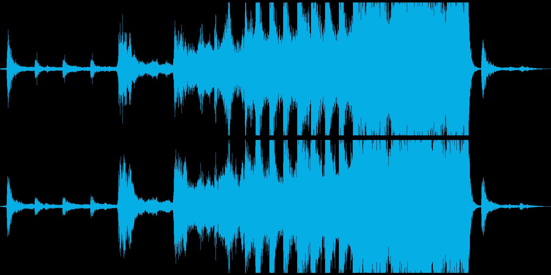 【CM,VP】 壮大なエピックトレイラーの再生済みの波形