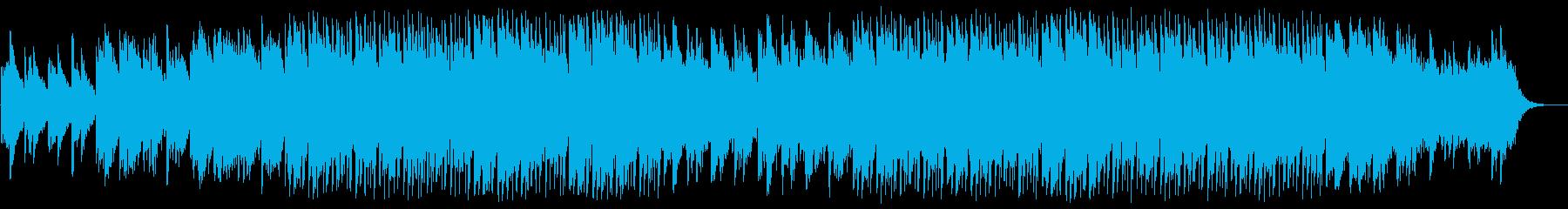 落ち着いた明るさのアンビエントポップの再生済みの波形