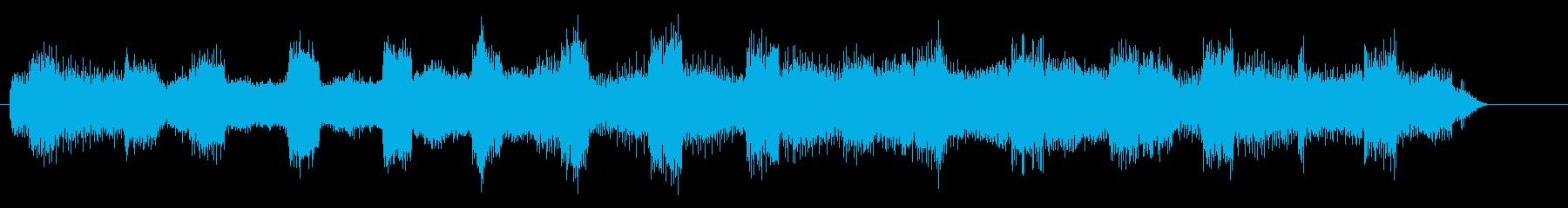 絶望、失望的な未来、動揺する暗い音 3の再生済みの波形