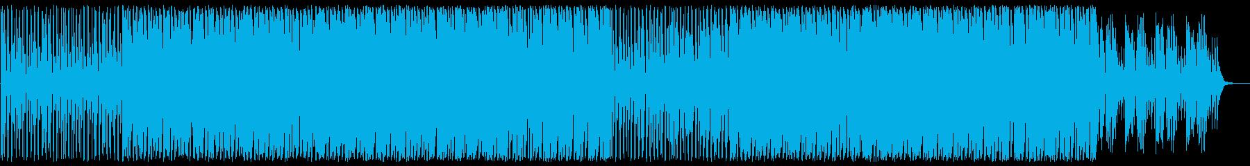 リラックスした雰囲気のボッサの再生済みの波形