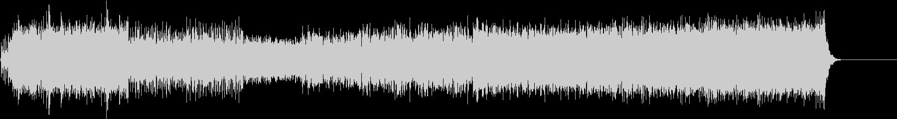 ストリングスが印象的なクラシック音楽の未再生の波形