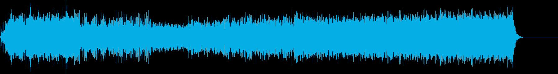 ストリングスが印象的なクラシック音楽の再生済みの波形