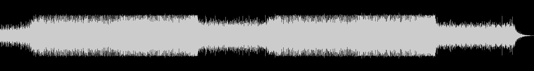 bpm133シンプルで地味なテクノの未再生の波形