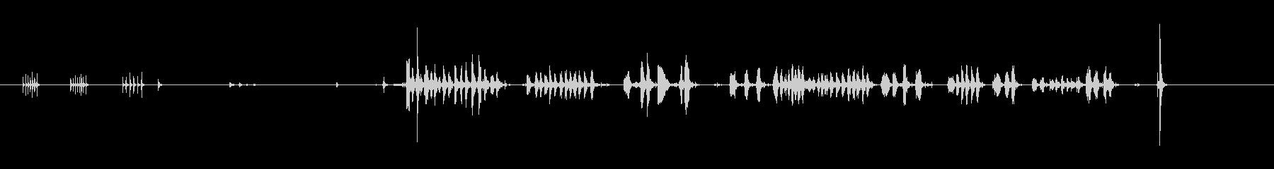 MUSIC BOX、WIND UP...の未再生の波形