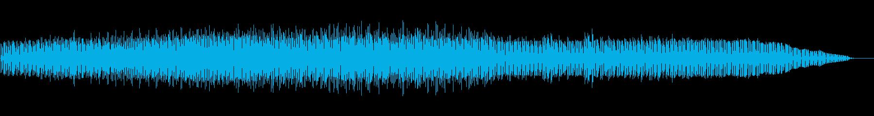 刺激的でややサスペンス的なインスト...の再生済みの波形