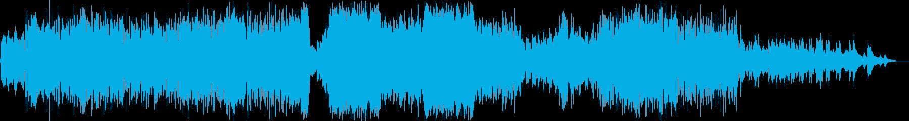 アイリッシュ ケルトの再生済みの波形