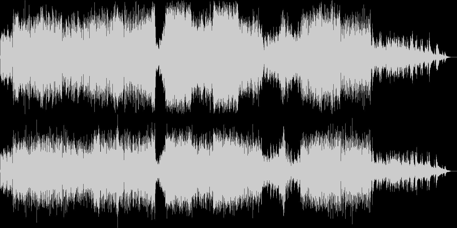 アイリッシュ ケルト カントリーの未再生の波形