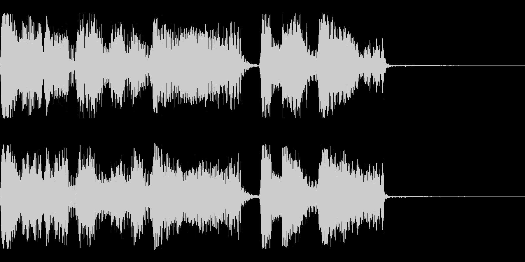 【パステルカラー1】の未再生の波形