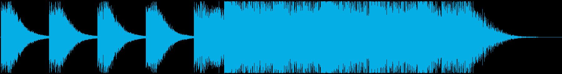 Damage IVの再生済みの波形
