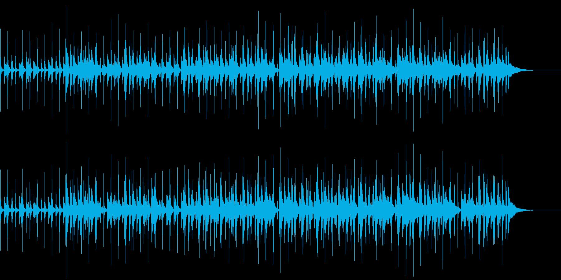 のんびりホリデイの再生済みの波形