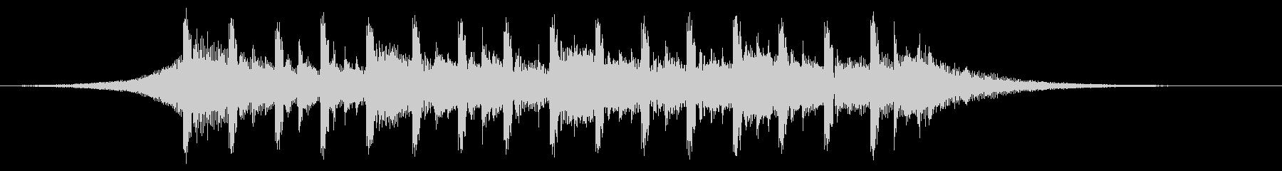 説明者の背景(15秒)の未再生の波形