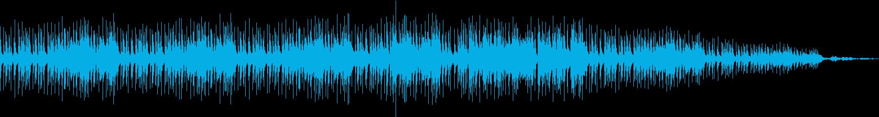 ミドルテンポのグルービーなHIP-HOPの再生済みの波形