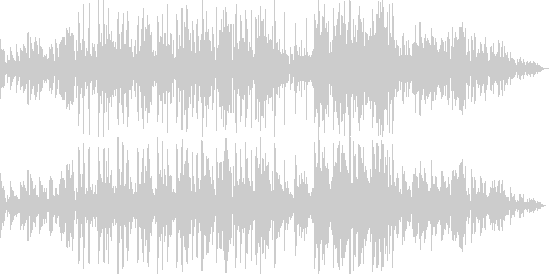 エレクトロニック サスペンス 説明...の未再生の波形