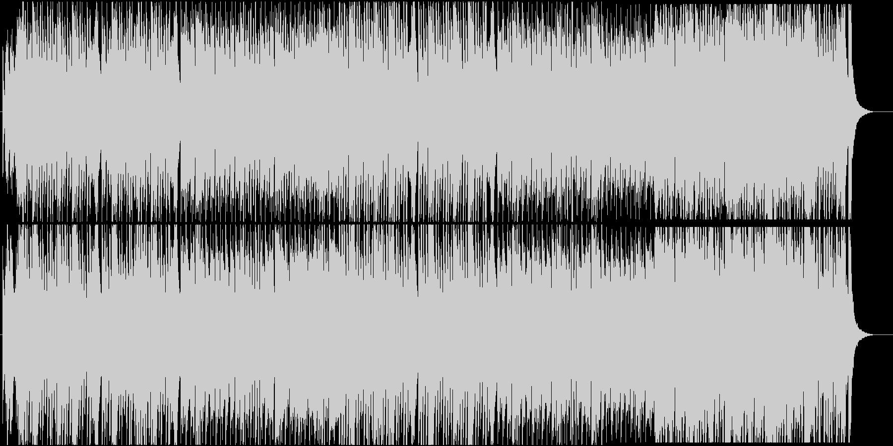 ハロウィン和風味の未再生の波形