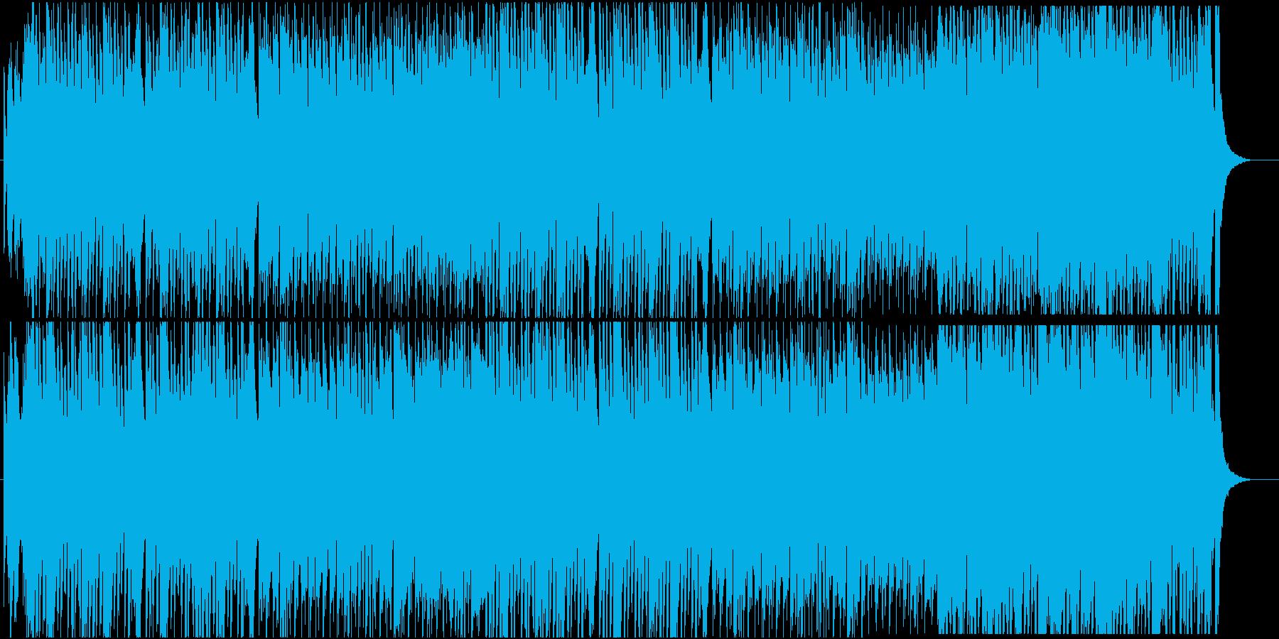 ハロウィン和風味の再生済みの波形