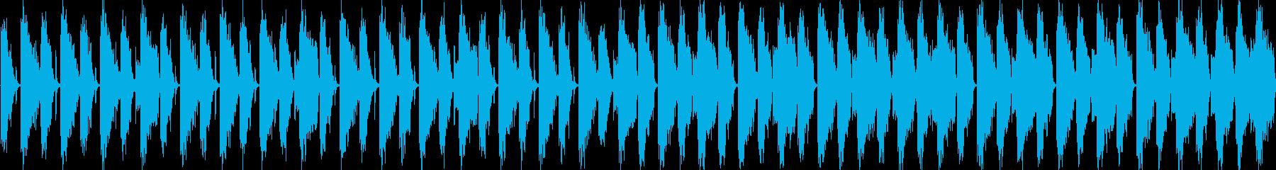 ノリノリループ素材の再生済みの波形