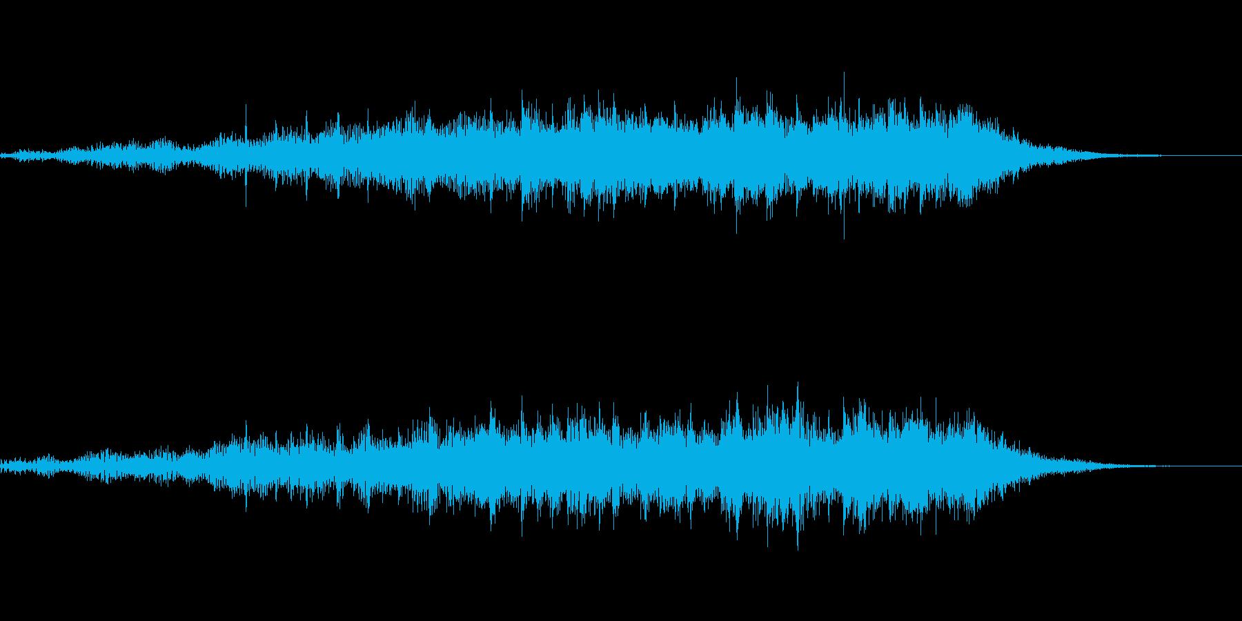 企業・サウンドロゴ・アイキャッチ10の再生済みの波形