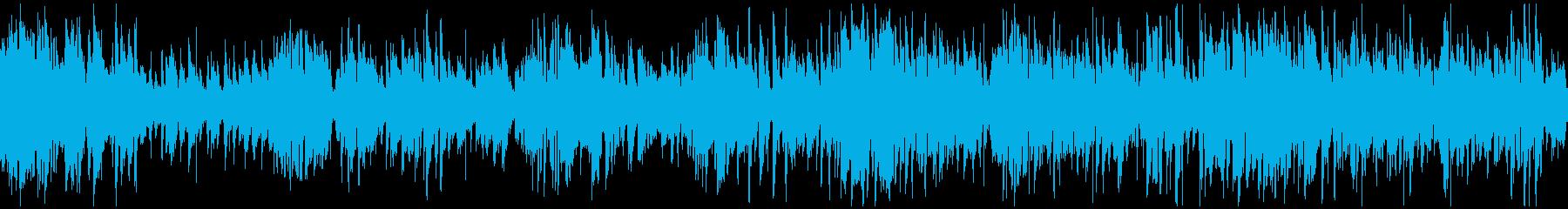 サックス、オルガン、ジャズ ※ループ版の再生済みの波形