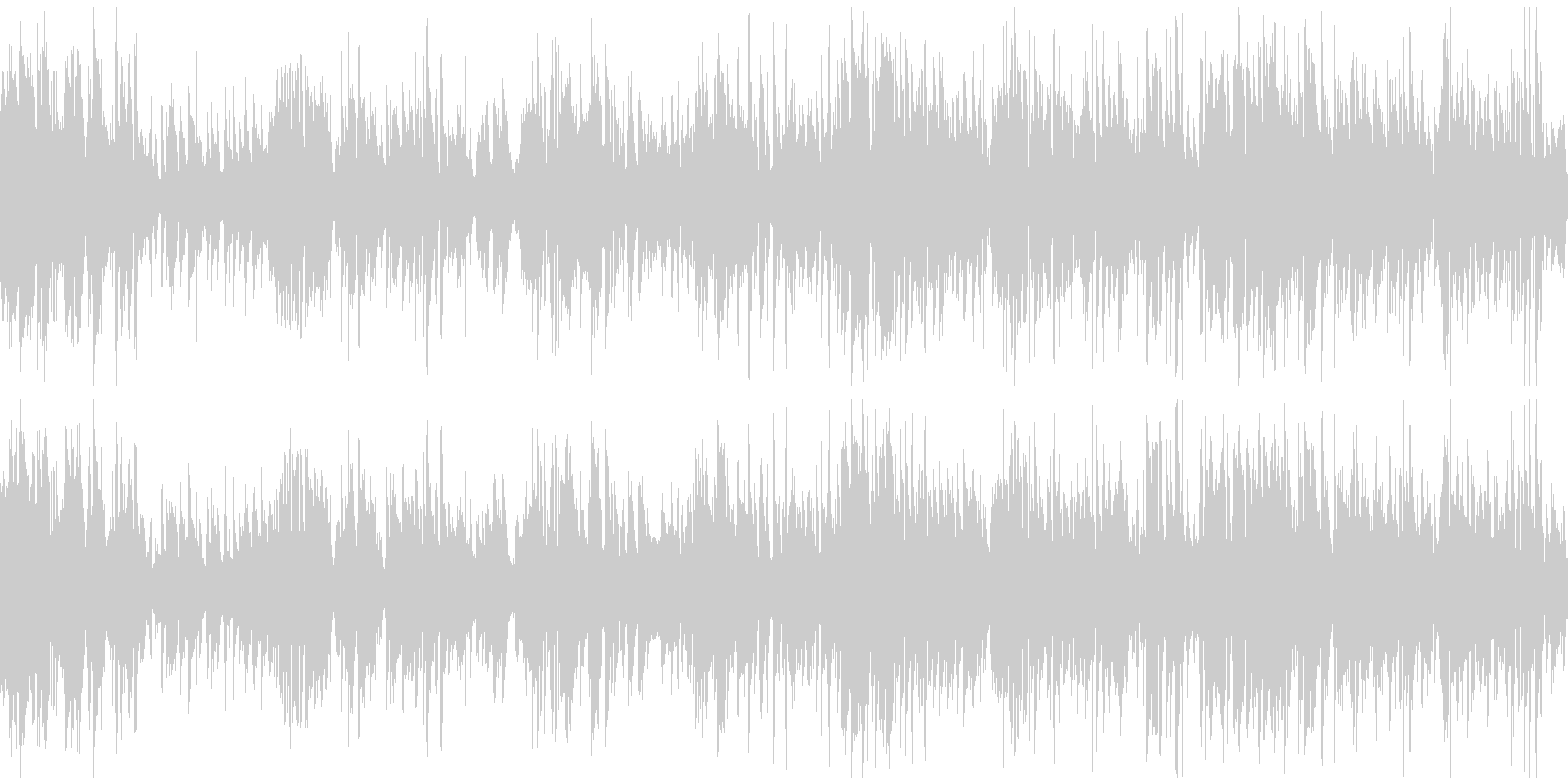 サックス、オルガン、ジャズ ※ループ版の未再生の波形