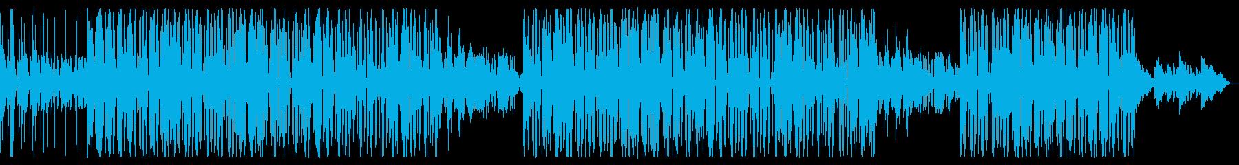 家に自粛して寂しいLofiトラップビートの再生済みの波形