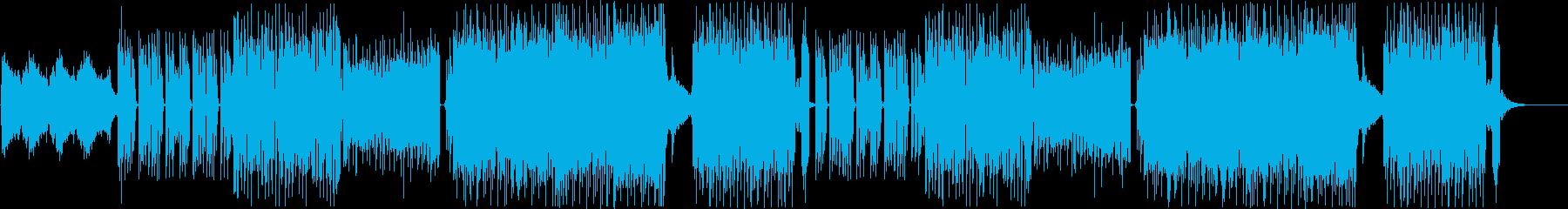 K-Pop、中近東エキゾチックEDM♪の再生済みの波形