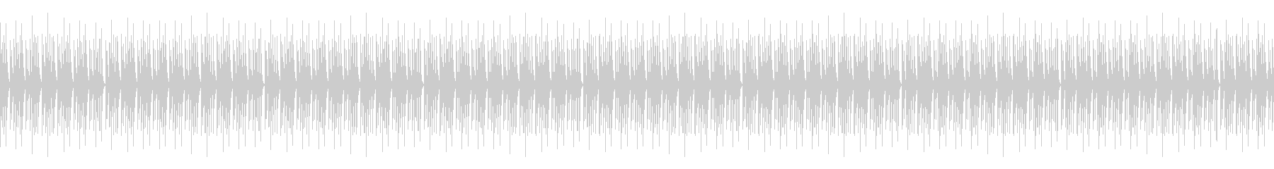 Vtuberの配信 雑談向けBGM 11の未再生の波形