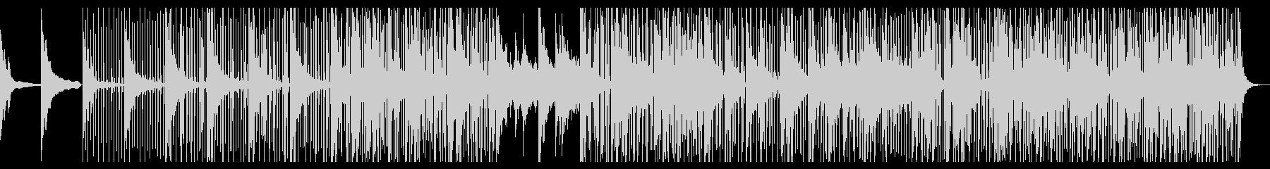 ヒップホップなアンビエントピアノジャズの未再生の波形