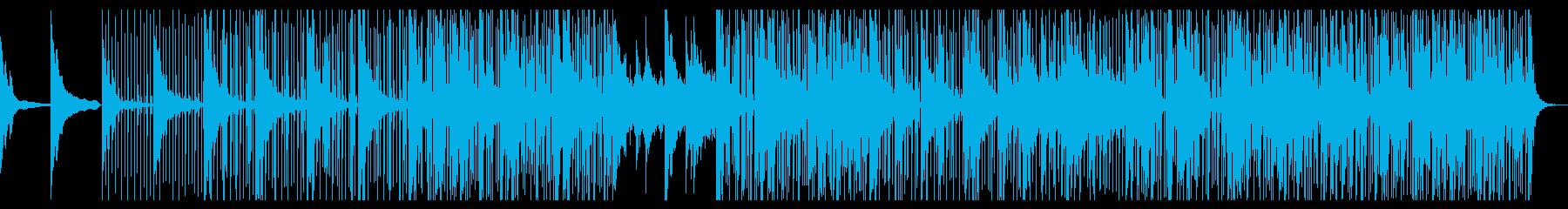 ヒップホップなアンビエントピアノジャズの再生済みの波形