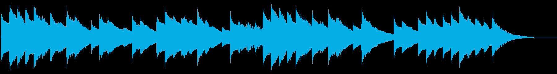 ショートver 夢の中 チェレスタの再生済みの波形