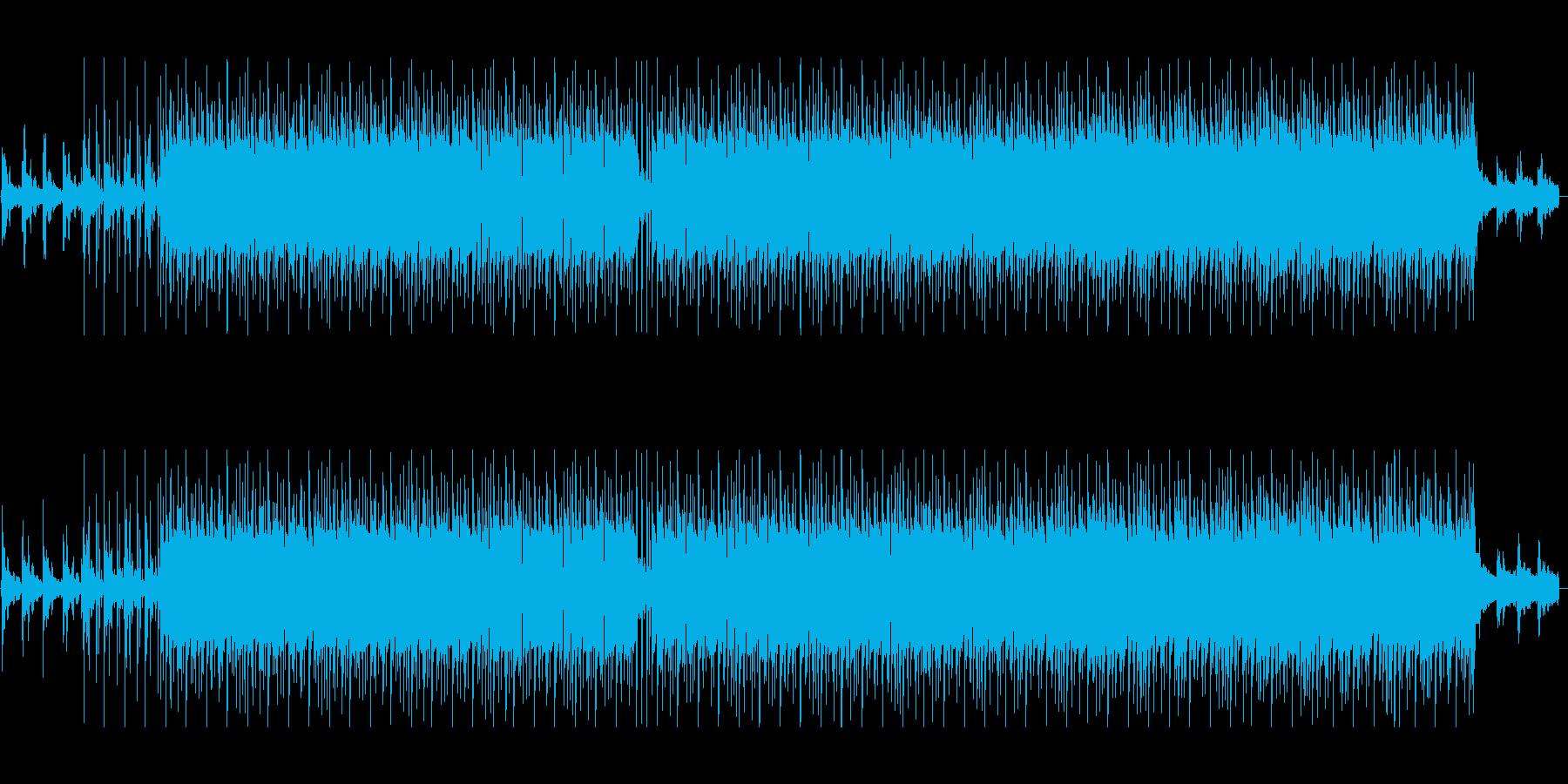 ギターが特徴的なヒップホップの再生済みの波形