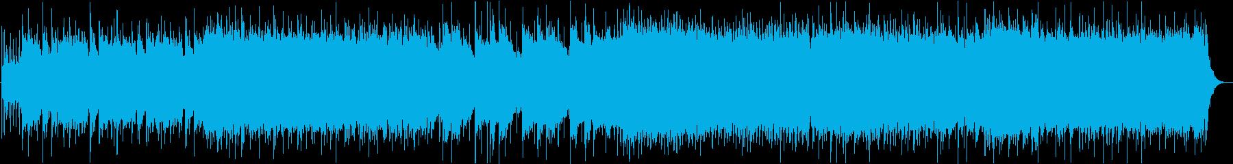 バトルやゾンビなどに合うメタルBGMの再生済みの波形