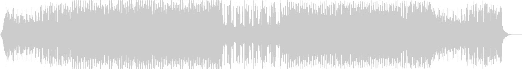 シンセサウンドが明るいテクノポップの未再生の波形