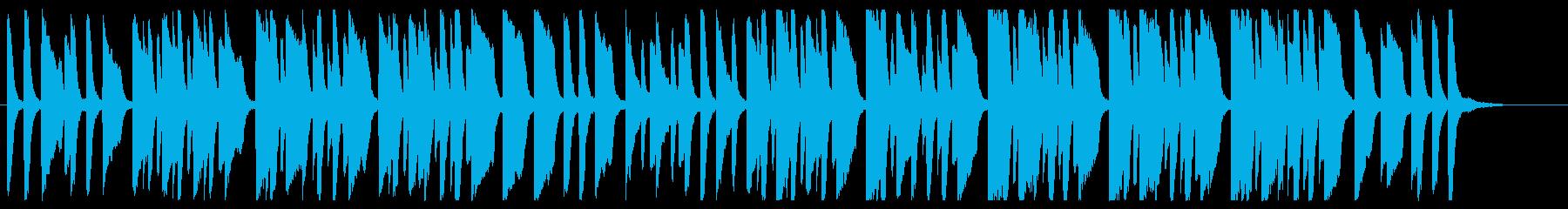 おちゃらかほい ピアノver.の再生済みの波形