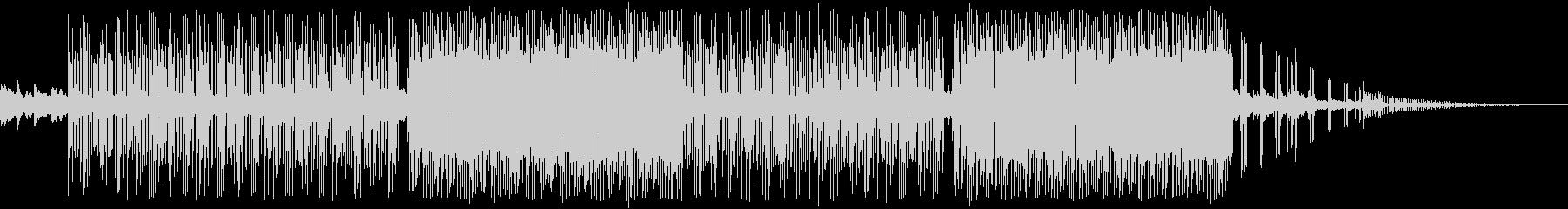 幻想的ギターlofiピアノトラップビートの未再生の波形
