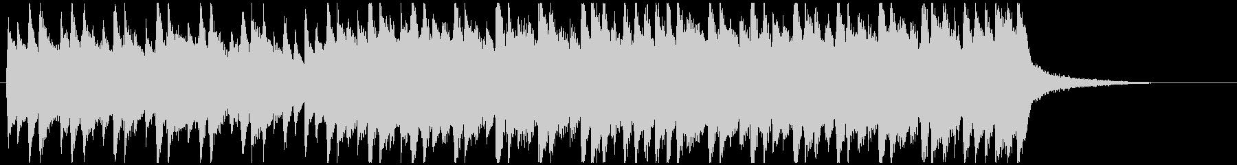 企業系ピアノジングル 爽やかで明るいの未再生の波形