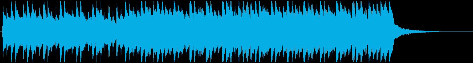 企業系ピアノジングル 爽やかで明るいの再生済みの波形