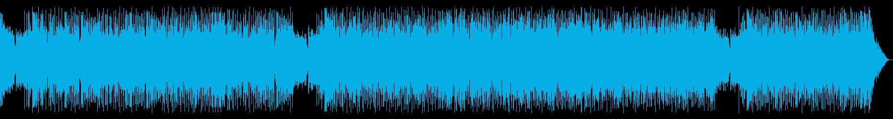逃走と追跡・カーチェイス・デジタルロックの再生済みの波形