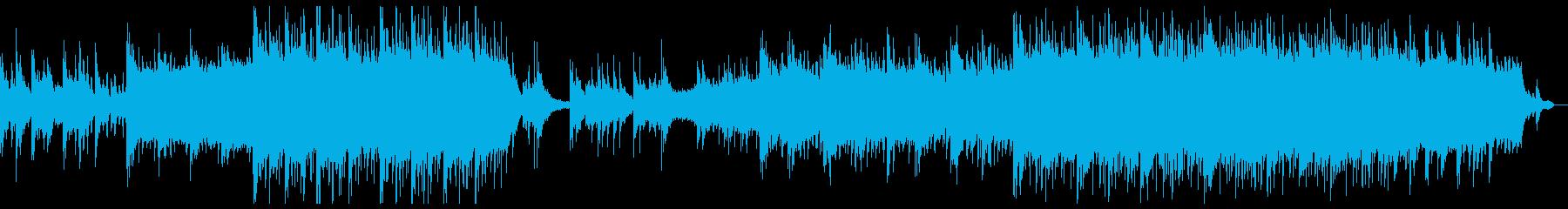 穏やかなチルアウトシネマティック。の再生済みの波形