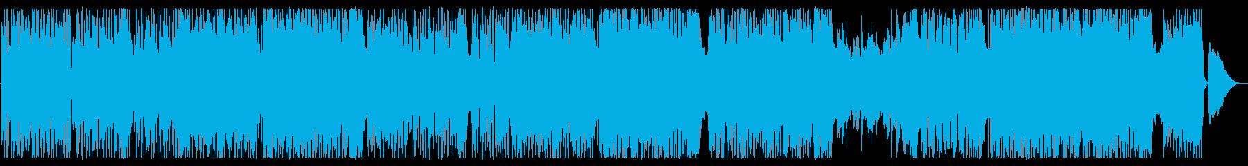 サビの連呼が印象的なかっこかわいいロックの再生済みの波形