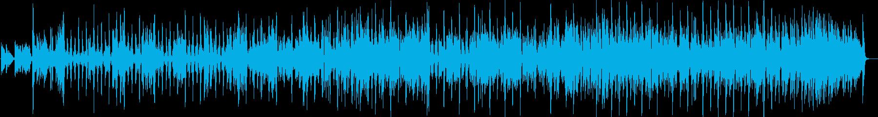 ブルージー・バンド、クリーン・ブル...の再生済みの波形