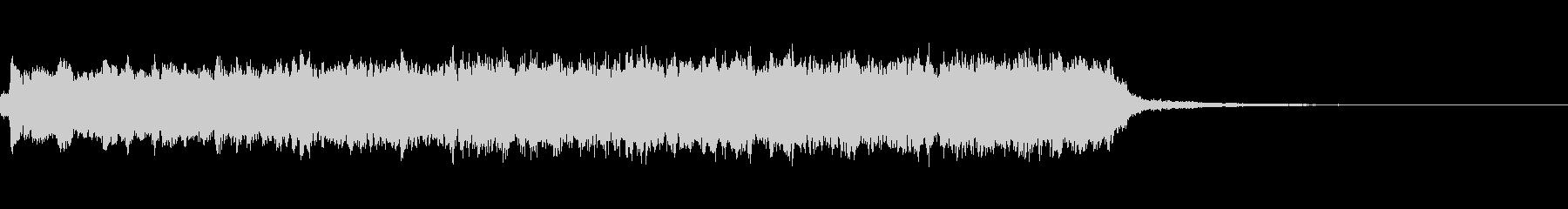 チャージ音A01の未再生の波形