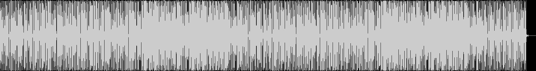 かっこいい、ファンク、スラップベースの未再生の波形