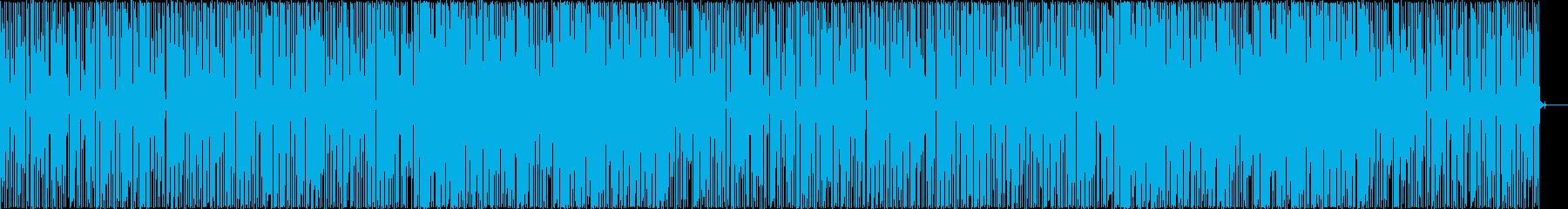かっこいい、ファンク、スラップベースの再生済みの波形