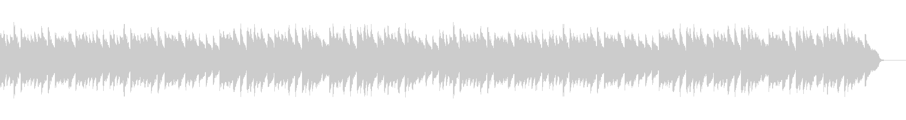 アコースティックセンチメンタル(ピアノ)の未再生の波形