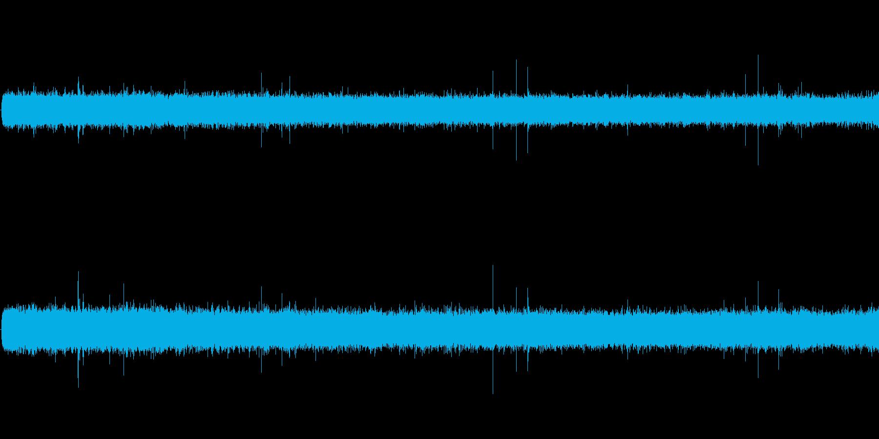 雨音(ザーザー)の再生済みの波形
